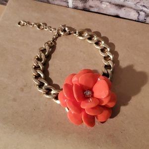 Jewelry - 3/$20 Red Flower Bracelet